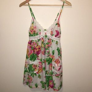 Betsey Johnson Floral Nightgown